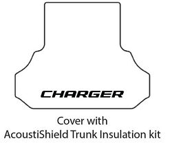 2011 2014 Dodge Charger Trunk Rubber Floor Mat Cover W/ Mch-100 Charger