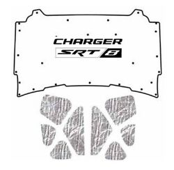 2005 2010 Dodge Charger Under Hood Cover With Mch-008 Charger Srt 8
