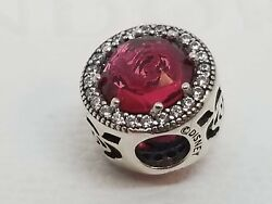 Pandora Disney Beauty And The Beast Belle Radiant Rose Charm 792140ncc