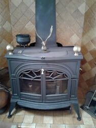 Defiant Non- Catalytic / Catalytic Wood Burning Stove Made By Vermont Castings