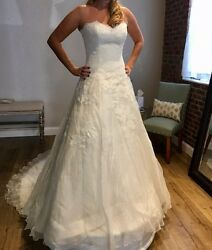 Watters Devenport Wedding Gown Sz 12 - Brand-new With Tags Went W/diff Gown