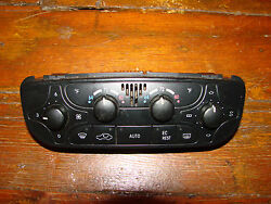 Mercedes Benz W203 C230 Climate Control # 2038300685
