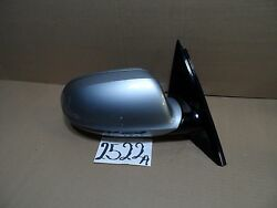 11 12 13 14 Audi A8 4 Door Passenger Side Mirror Used Power Silver Color 2522-a