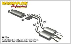 Magnaflow 16709 - Magnaflow Series Cat-Back Exhaust System for Grand Cherokee