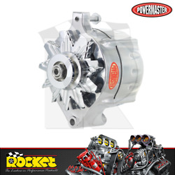 Powermaster 140a 1-wire Alternator Polished Fits Ford - Pm8-67141