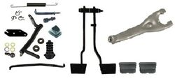 1970-72 Camaro Rs Ss Z28 Master Clutch Linkage Kit With Pedals And Fork