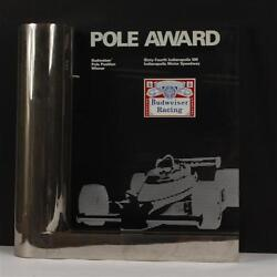 64th Indianapolis 500 Budweiser Pole Position Award Ims Museum Johnny Rutherford
