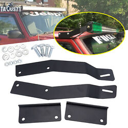 No Drilling Need 50 Led Light Bar Roof Mount Bracket For Jeep Cherokee Xj 84-01