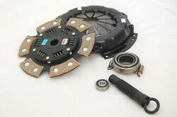 COMPETITION 6 PUCK RACE CLUTCH HONDA ACURA B16 B18 B20 8026 1620 STAGE FOUR $437.87