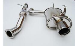Invidia Q300 Catback Single Exhaust For 00-09 S2000 Ap1 Ap2 Rolled Ss Tip
