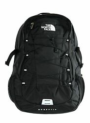 The North Face Women Classic Borealis Backpack Student School Bag TNF Black