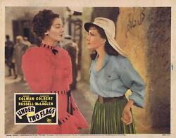 Under Two Flags - R43- Original 11x14 Lobby Card - Claudette Colbert R.russell