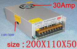 DC12V 30Amp 260W Power Supply Adapter 110-220V ACDC Switching Power