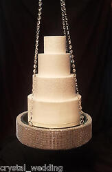 Diamante Plateau Style Cake Suspended Swing Wedding Cake Display -see Video