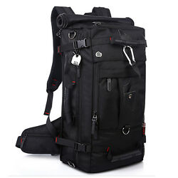 Backpack Shoulder Bags Large Capacity Men Travel Bag Waterproof Oxford Sport Bag