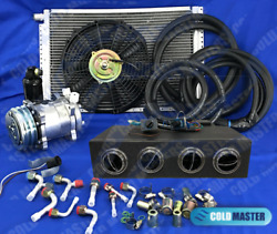 A/c-kit Universal Underdash Evaporator Heat And Cool 404-000c H/c And Elec. Harness