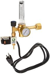 Titan Controls CO2 Regulator - Hydroponics Greenhouse Grow Room Pressure Gauge