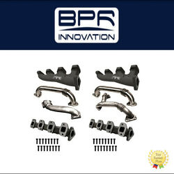 PPE Race High Flow Exhaust Manifolds with Up-Pipes For Chevy 2011-2015-116111101