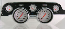Classic Instruments Ford Mustang 67 68 Gauge Cluster New Velocity Series White