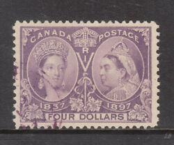 Canada 64 Extra Fine Used With Ideal Winnipeg Cancel With Certificate