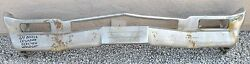 X Buick Lesabre Electra 225 New Triple Plated Chrome Front Bumper 1964 64 Oem