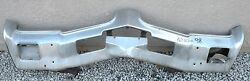 X Oldsmobile 98 Ninety-eight New Triple Plated Chrome Front Bumper 1969 69 Oem