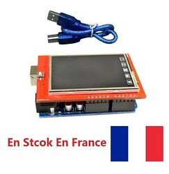24 Pouces Tft Lcd Display Touch Screen Sd Card 240 X 320 Pour Arduino Uno R3