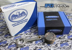 Supertech Pistons Eagle Rods For 99-00 Honda Civic Si B16 B16a 81mm 11.01 Cr