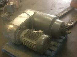 Reliance Electric Gear Reducer Ident No 309576-dy Size 500 Assembly 112 15hp