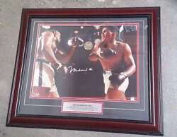 Muhammad Ali Autographed 16 X 20 Photo - Framed - 2-times Certified Authentic