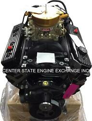 NEW 5.7L GM Marine Extended Base Engine w Carb & Ignition. Replaces Volvo 97-up