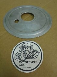 Ajs Model 16 18 Matchless G3l G80 Heavyweight Singles Rear Hub Cover Plate 7