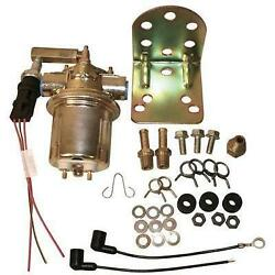 New 7.4l Marine Engine Electric Fuel Pump Kit - Includes Bracket And Hardware
