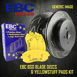 New Ebc 336mm Front Bsd Performance Discs And Yellowstuff Pads Kit Kit18151