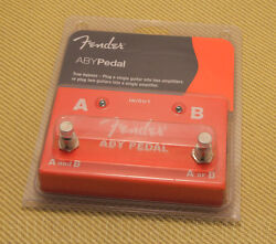 023-4506-000 Fender Full Size ABY Footswitch Foot Switch Pedal for GuitarBass