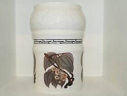 Bing And Grondahl Large Vase. Uniquely Decorated By Artist Jo Hahn Locher