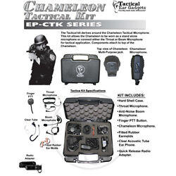 CHAMELEON Quick Release Tactical Kit for Vertex VX-537 NYPD Two-Way Radios