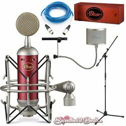 Blue Spark SL Condenser Microphone Deluxe Home Studio Package Recording Bundle