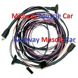 Rear Body Taillight Lamp Wiring Harness 57 Chevy Bel Air Convertible