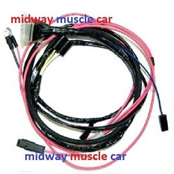 Engine Wiring Harness 63 64 65 Chevy Nova Ii 283 327 396 Hei And Factory Gauges
