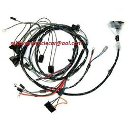 Engine Harness And Front End Light Wiring Harness Kit V8 68 Pontiac Firebird