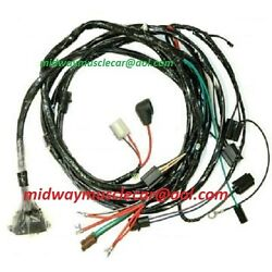 Engine And Front Light Wiring Harness Kit V8 64 Chevy Chevelle El Camino Hei