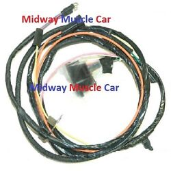Engine Wiring Harness V8 65 66 Chevy Impala Caprice Biscayne Bel Air Without A/c