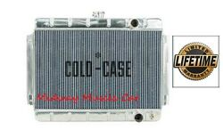 64 65 Chevy Chevelle Cold-case Aluminum Performance Radiator W/ Manual Trans