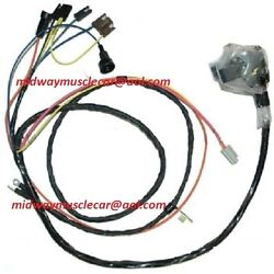 Engine And Front Light Wiring Harness Kit V8 71 Chevy Chevelle El Camino Hei