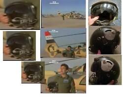 Extremely Rare Saddam Era Iraqi Air Force Helicopter Fighter Pilot Helmet - Iraq