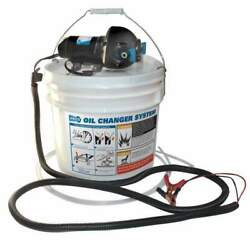 Jabsco Diy Oil Change System With Pump And 3.5 Gall Bucket 17850-1012