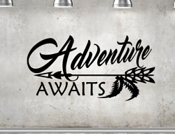 Adventure Awaits Disney Up Teacher Vinyl Wall Art Decal Removable Sticker
