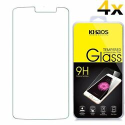 4xtempered Glass Screen Protector For Zte Zfive 2 Lte / Avid Trio Z833 N9136