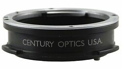 New Century Nikon Mount To Sony 1/2-inch Ccd Bayonet Mount Optical Adapter